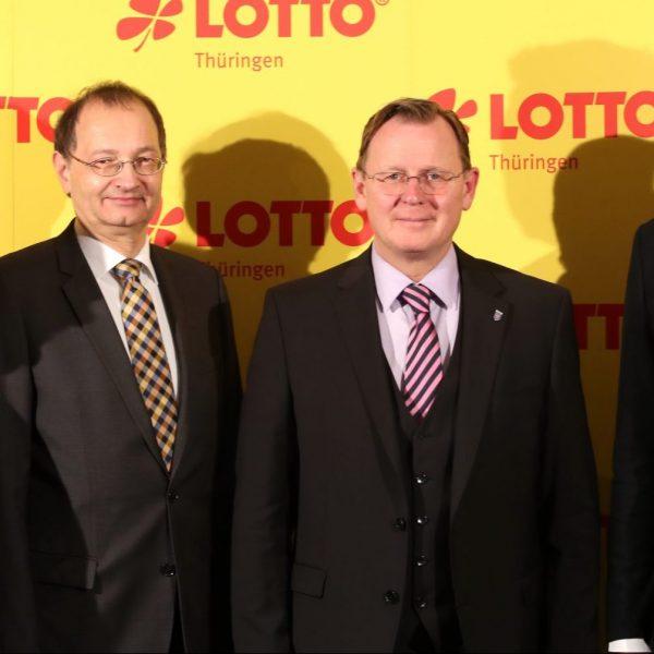Bodo Ramelow nimmt an Tagung der Landeslotterien im HOTEL DER LINDENHOF teil
