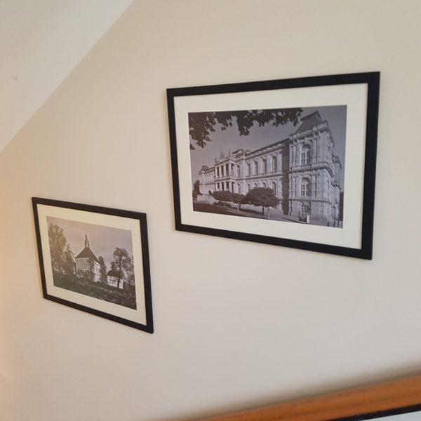 Gothaer Bildergalerie in den Treppenhäusern