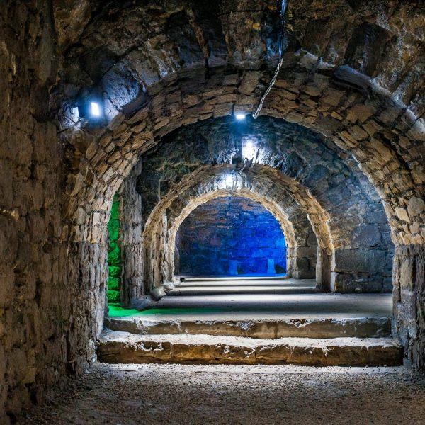 Kasematten unter dem Schloß Friedenstein
