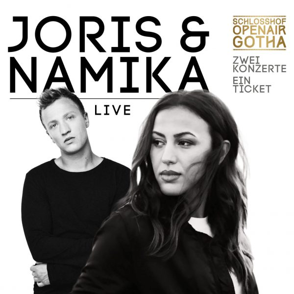 JORIS & NAMIKA  – 29. August 2019 Schloßhof Open Air