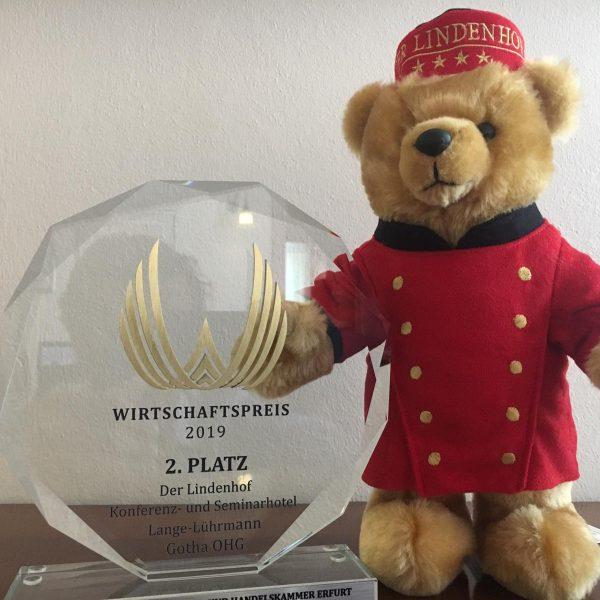 Hotel DER LINDENHOF macht 2. Platz beim Thüringer Wirtschaftspreis