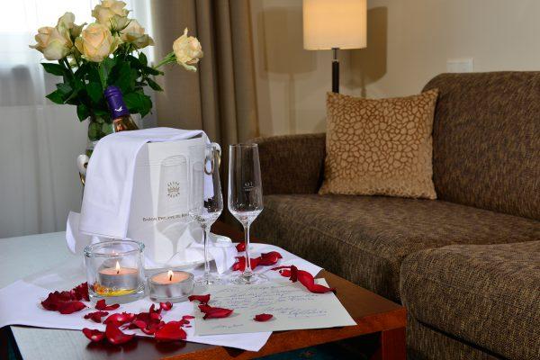 Großzügige Hochzeitssuite für süße Träume in das gemeinsame Leben