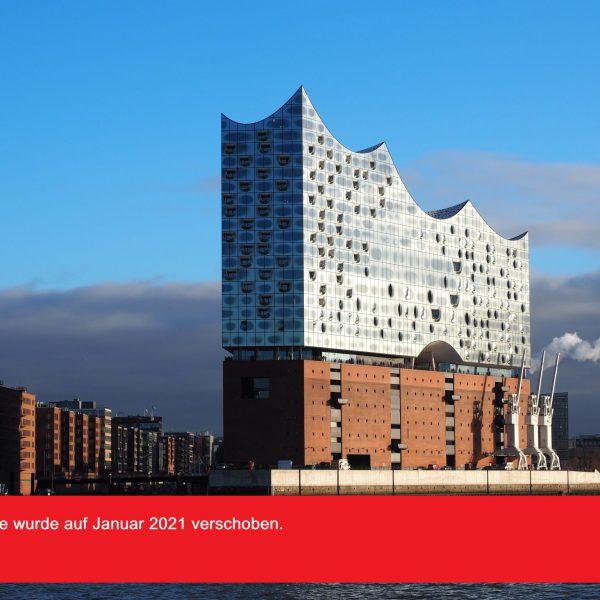 Gourmetreise in die Elbphilharmonie Hamburg 28.-30.01.2021