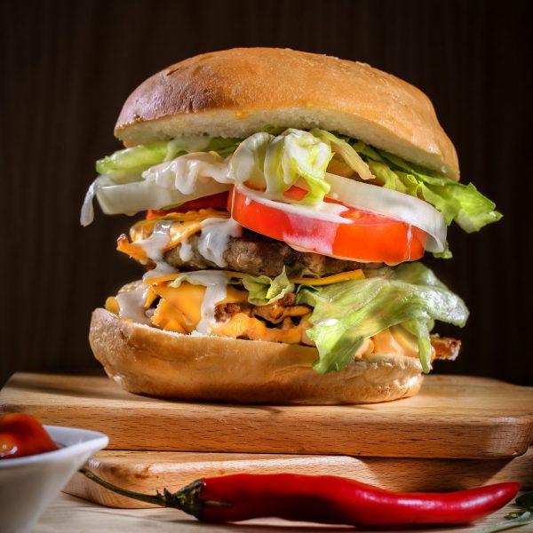 Mini burgers to create yourself