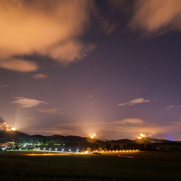 Drei(n)schlag – Das Open-Air Spektakel im Thüringer Burgenland Drei Gleichen