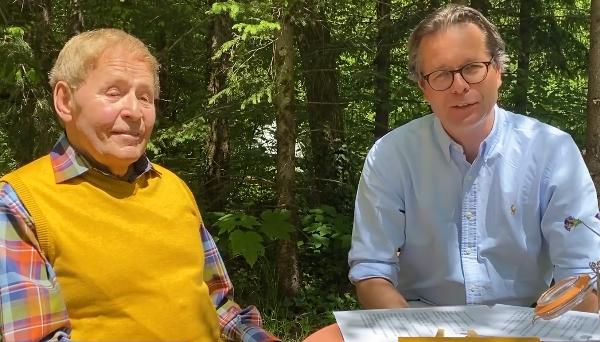 Kurzinterview mit Eberhard Hertel…mit Gesang